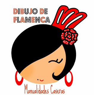 Manualidades Caseras Faciles diseño del logo de manualidades caseras vestido de flamenca