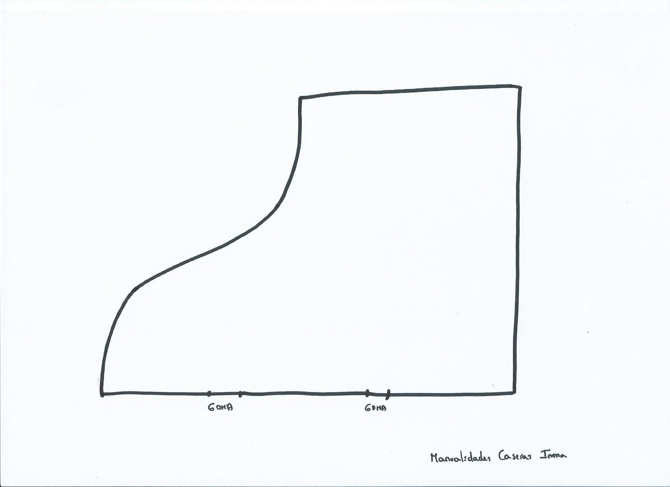 Manualidades Caseras Inma_Patrón de bota