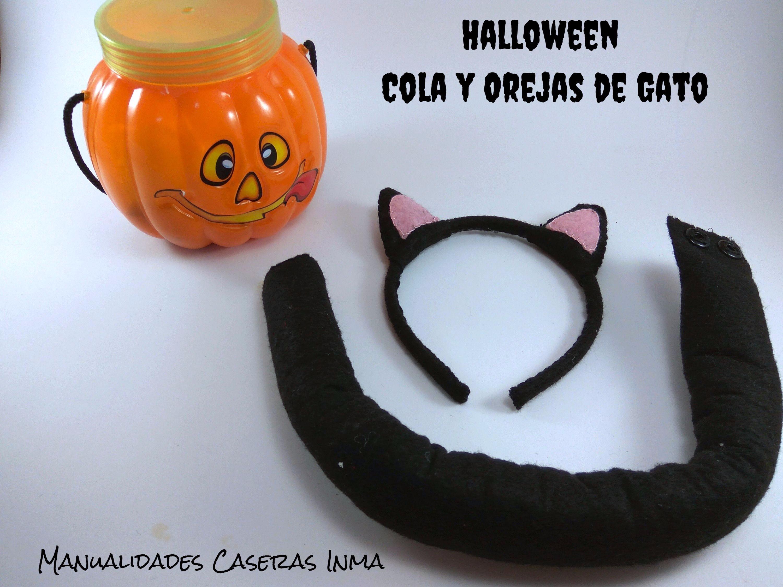 Manualidades Caseras Inma_ Cola y orejas de Gato