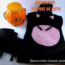 Manualidades Halloween : Disfraz de Gatito Negro