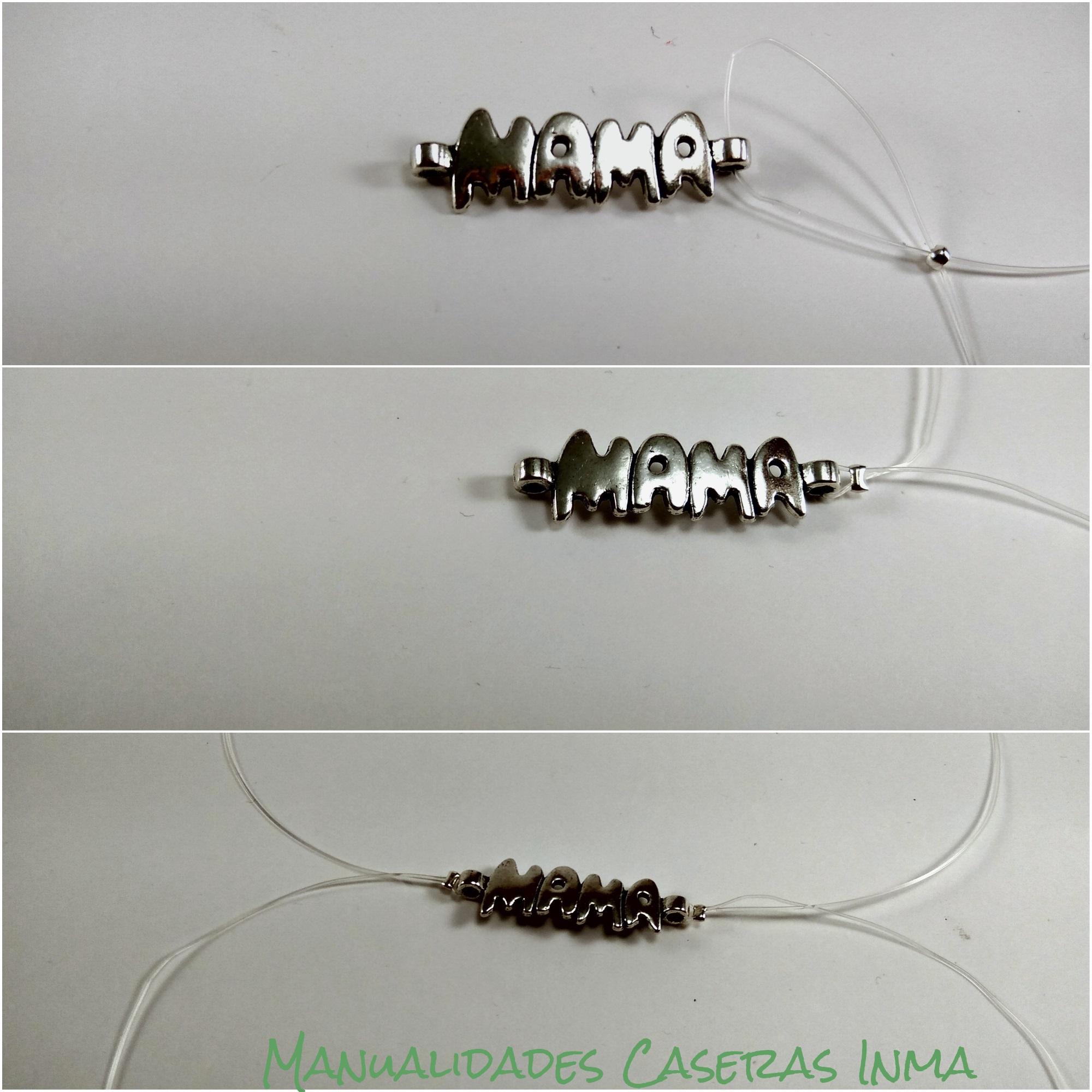Manualidades Caseras Inma_ Como colocar la pieza de metal Mamá