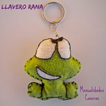 Llavero Rana