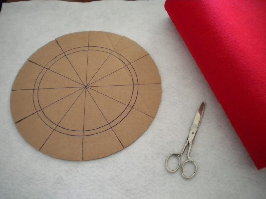 Manualidades Caseras Inma_ Como hacer el patrón para hacer el molde para hacer el cuenco de fieltro