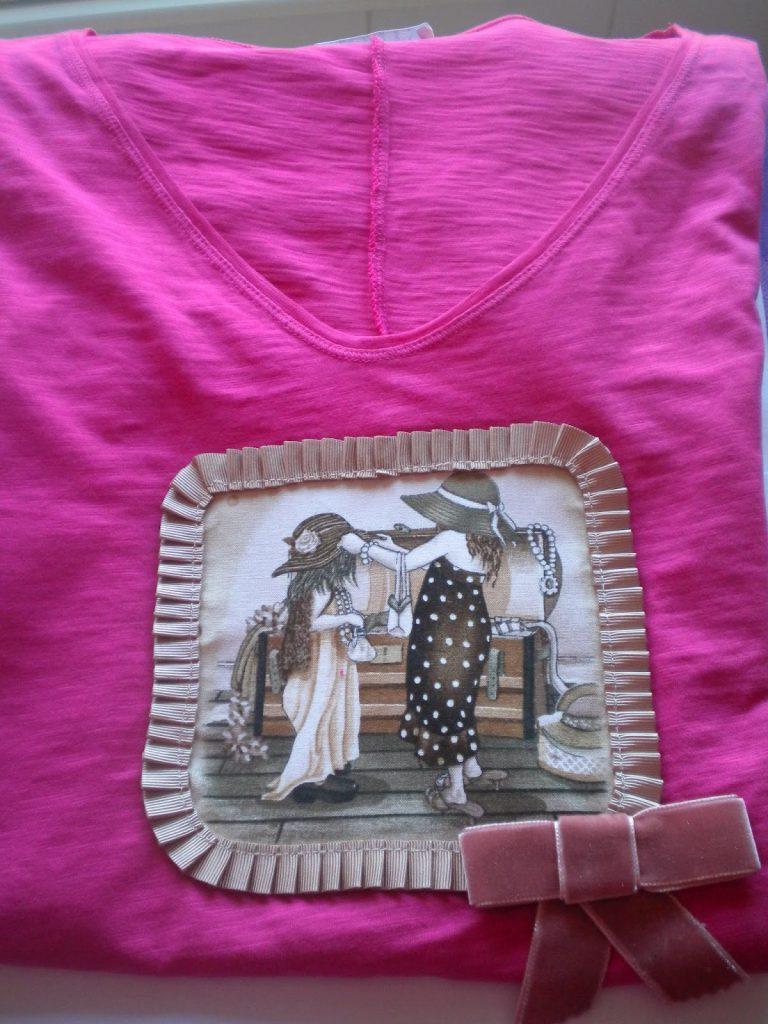 Manualidades Caseras faciles camisetas muñecas antiguas