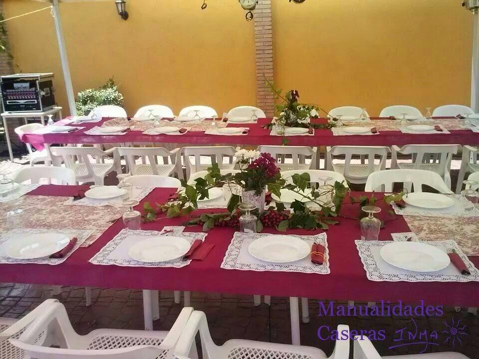 Manualidades Caseras Faciles mesas decoradas para una comunión