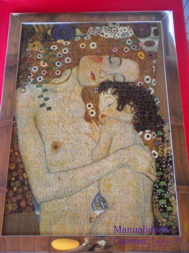Manualidades Caseras Faciles puzzle La Maternidad de 1500 piezas de Gustav Klimt