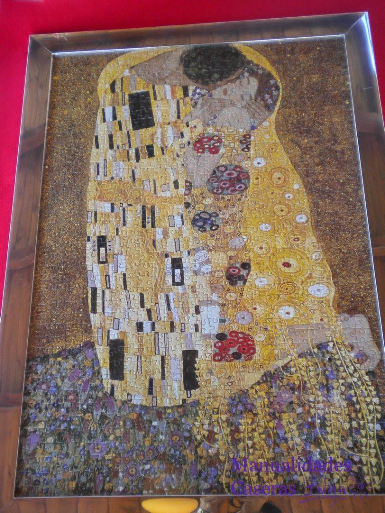 Manualidades Caseras Faciles puzzle de 1500 piezas el beso de Gustav Klimt