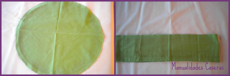 Manualidades Caseras Inma-Restauración de un taburete_ decosido de la tela del taburete