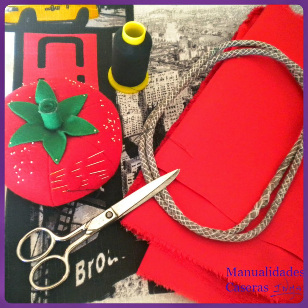 Manualidades Caseras Inma Restauración de taburete cosas que necesitamos para coser el cojín del taburete