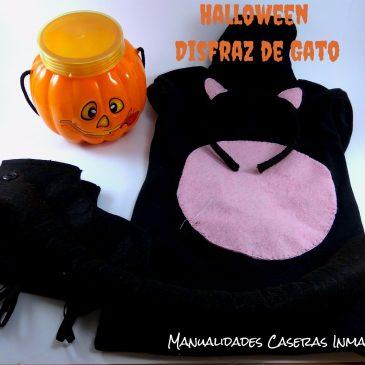 Manualidades Halloween : Disfraz de Gato Negro