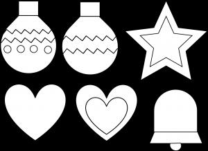 Manualidades Caseras Inma_ patrones de adornos para árbol de navidad