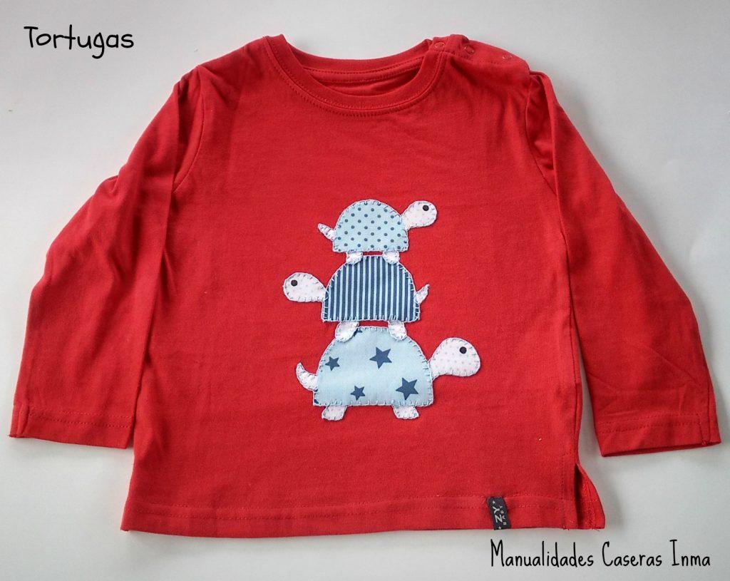 Manualidades Caseras Inma_ Camiseta tortugas