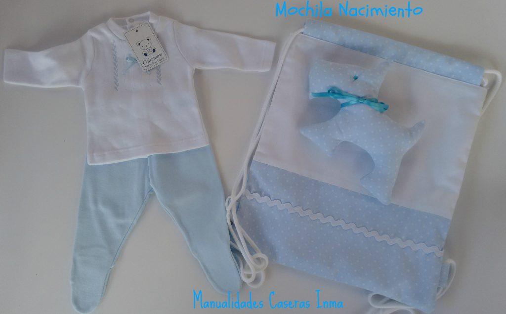 Manualidades Caseras Inma _Regalos para mellizo niño en todos azules