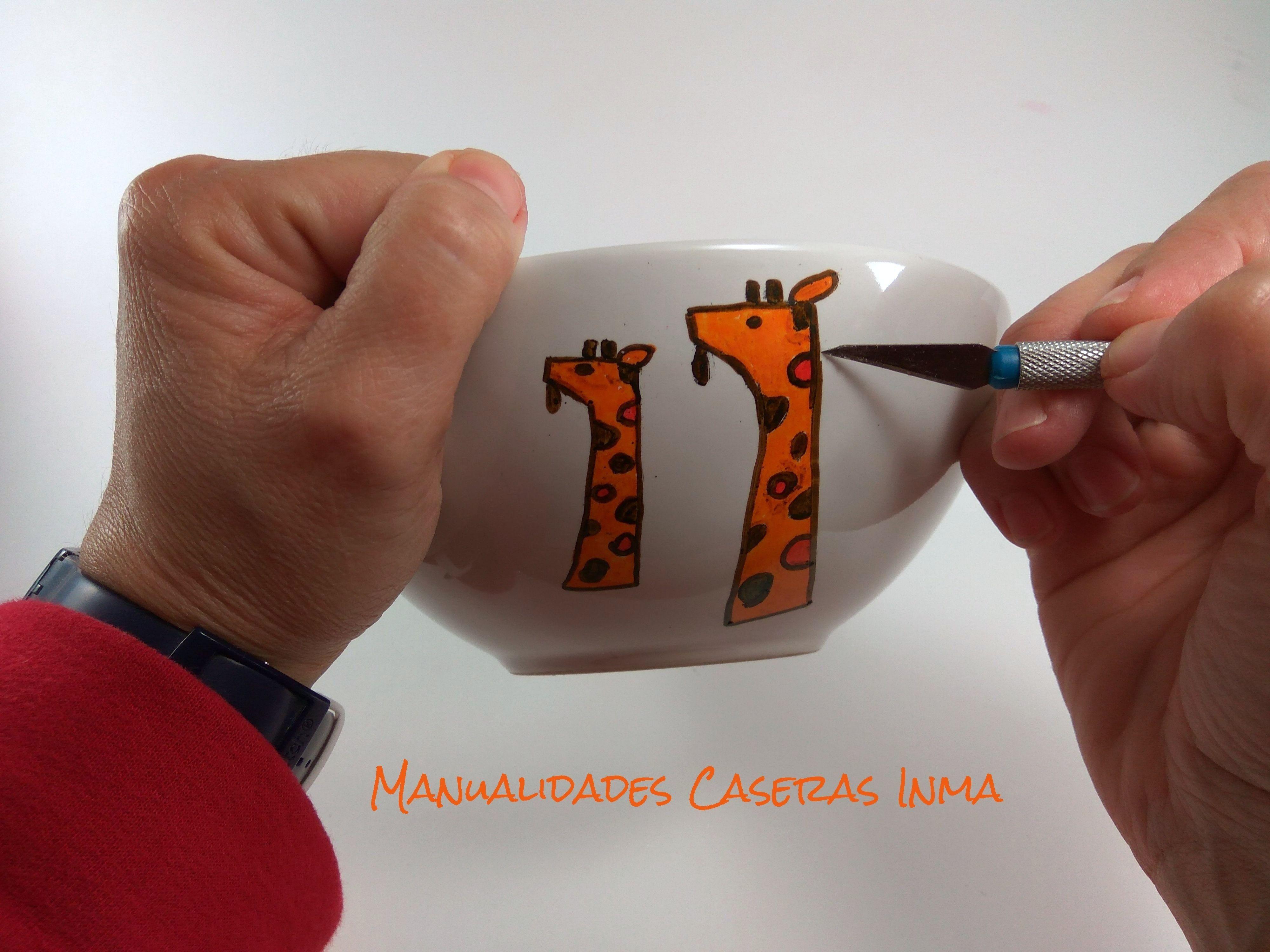 Manualidades Caseras Inma_ Como retirar el exceso de rotulador