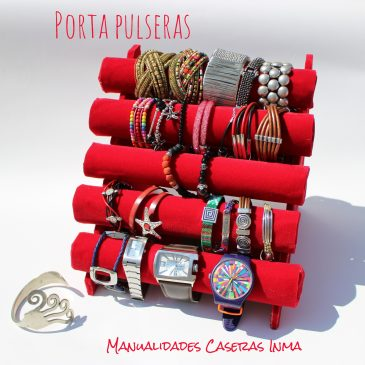 Porta pulseras_ Manualidades para organizar
