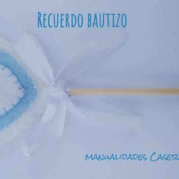 Recuerdo de bautizo_ Corazones