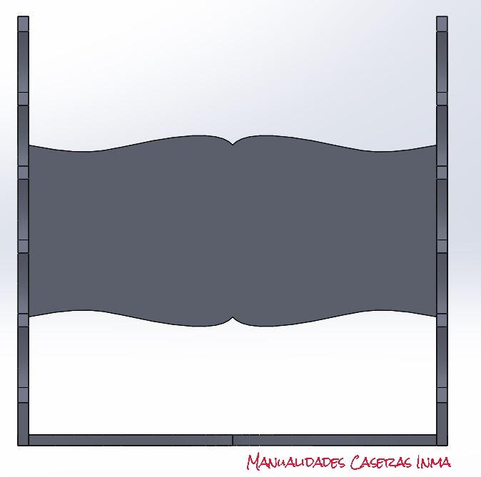 Manualidades Caseras Inma_ 3D Organizador porta pulseras
