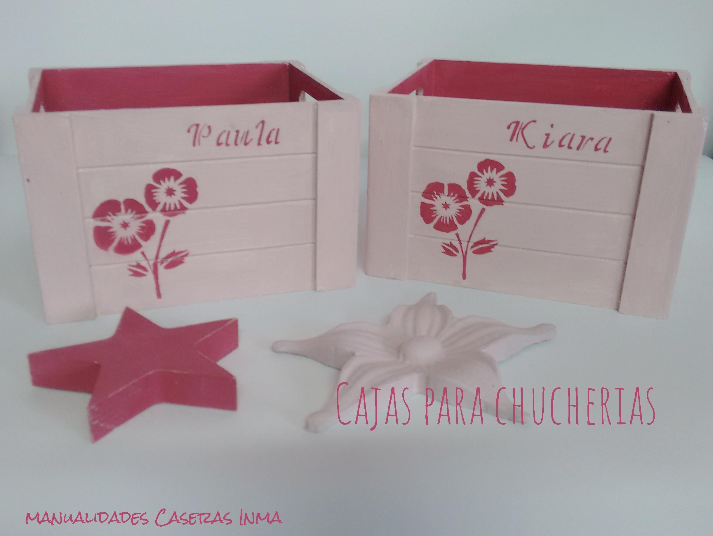 Manualidades Caseras Inma_ cajas chuches y regalos