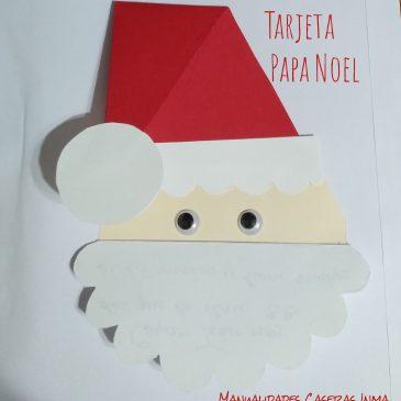 Tarjeta Papa Noel