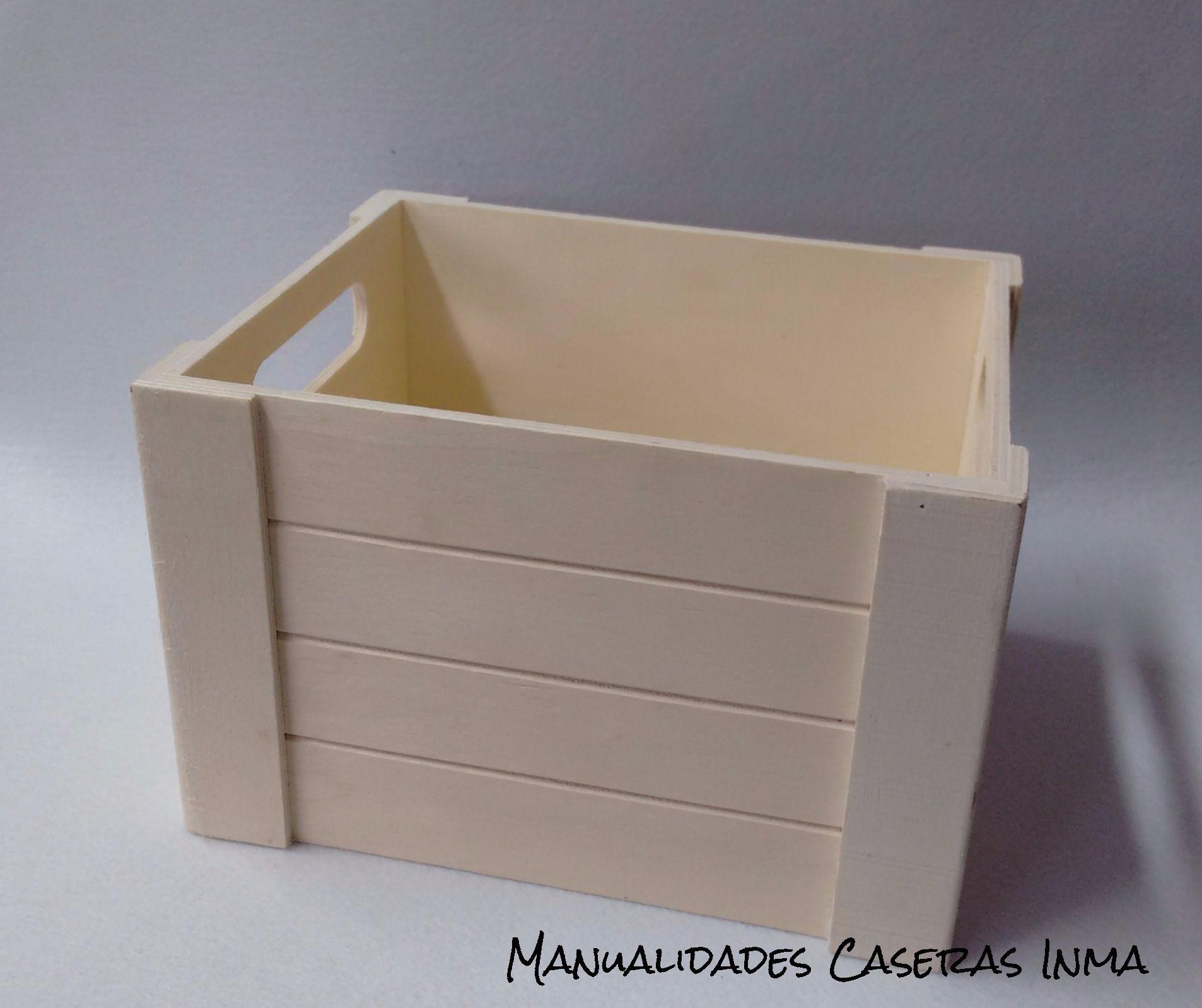 Manualidades Caseras Inma_ cajas regalos en madera