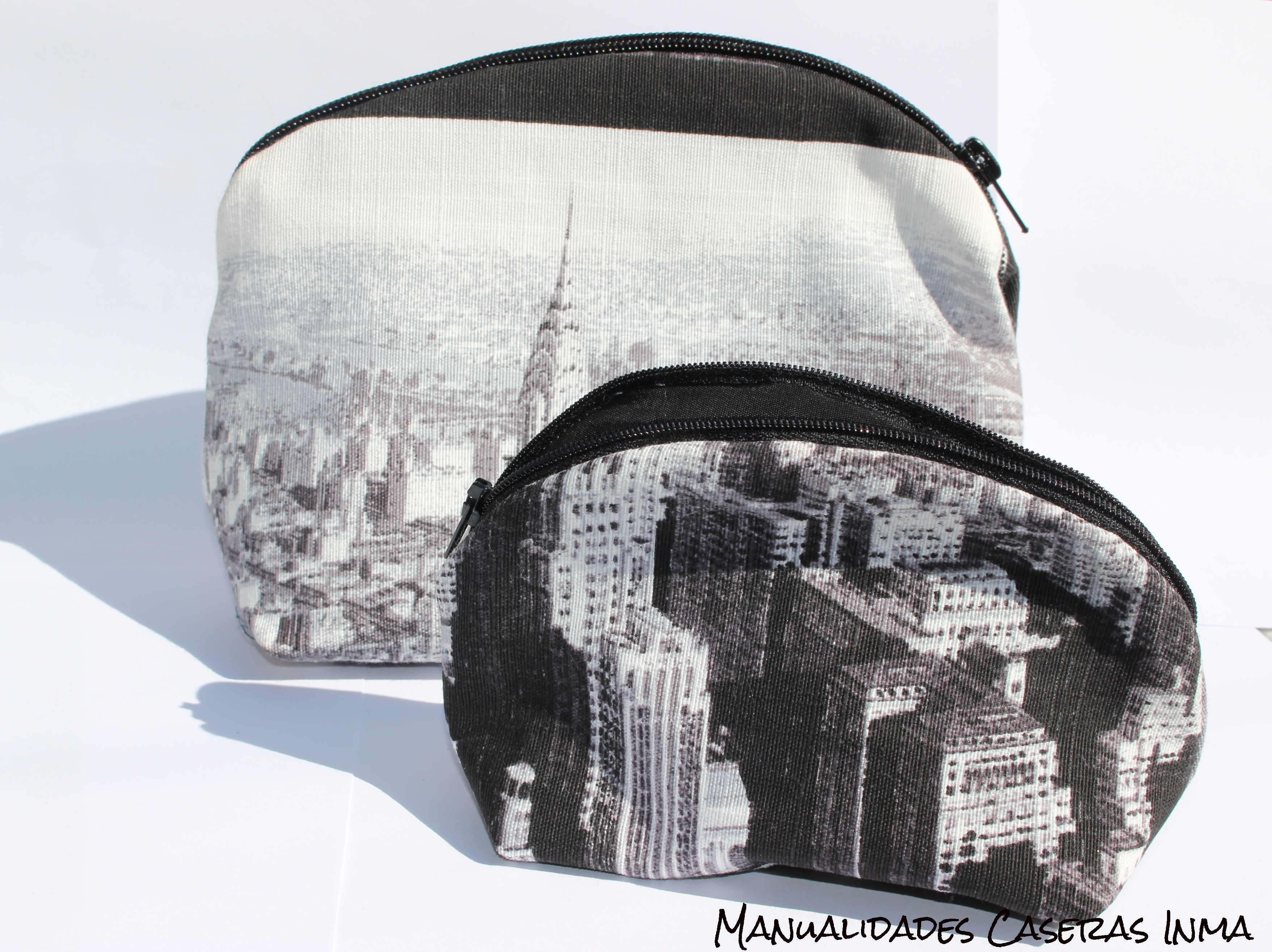 Manualidades Caseras Inma_ Neceser New York