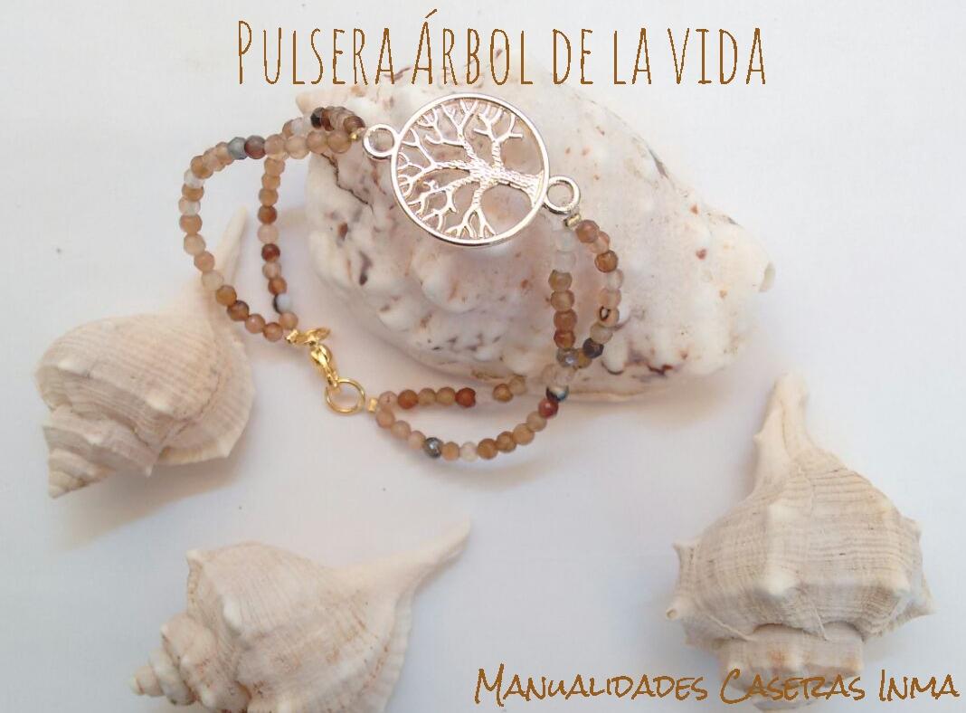 Manualidades Caseras Inma_ pulsera arbol de la vida