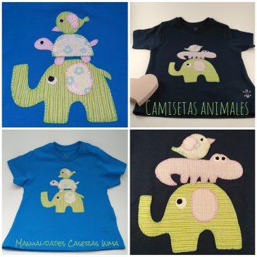 Camisetas animales