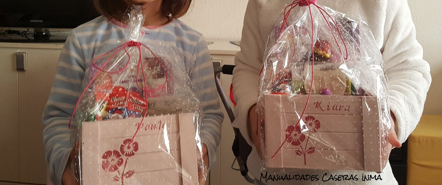 Manualidades Caseras Inma_ cajas chuches envueltas