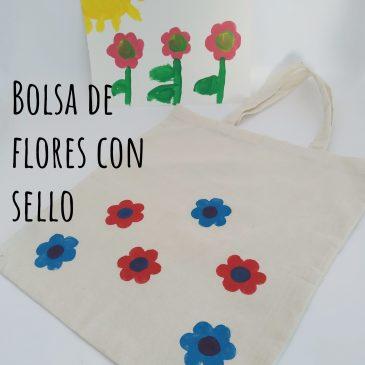 Bolsa de flor con sello