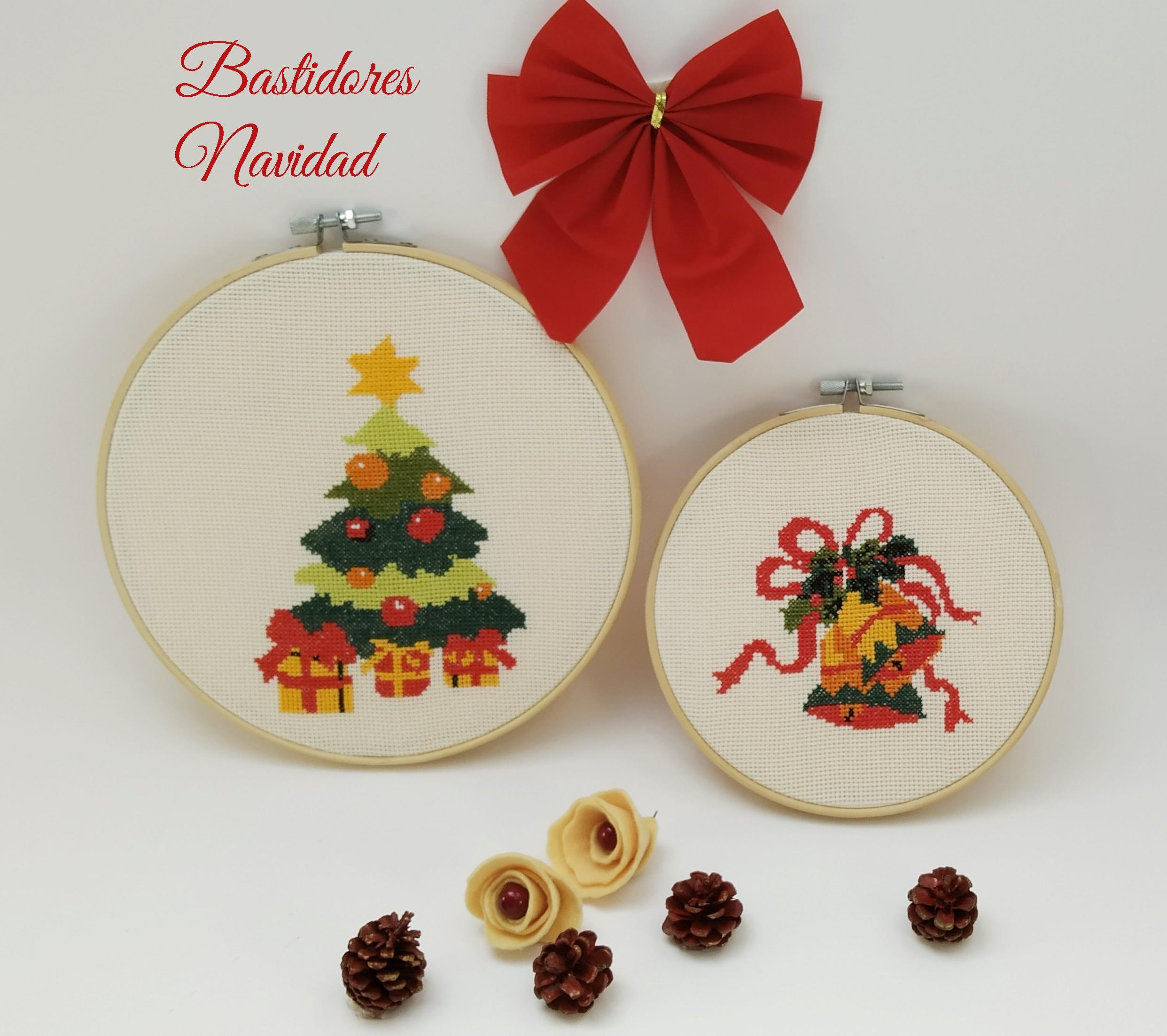 Manualidades Caseras Inma_ bastidores navidad