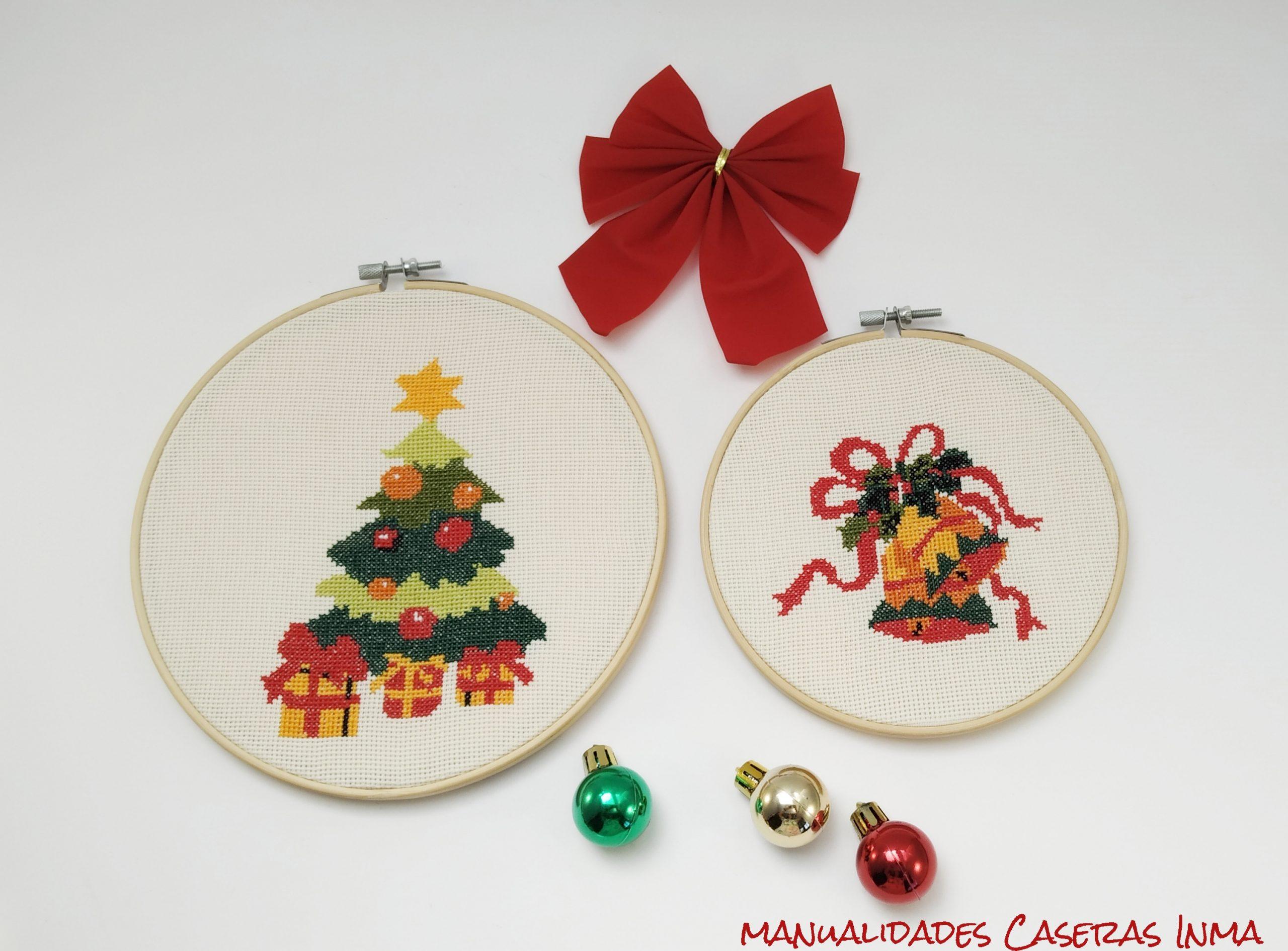 Manualidades Caseras Inma_ Bastidores de navidad