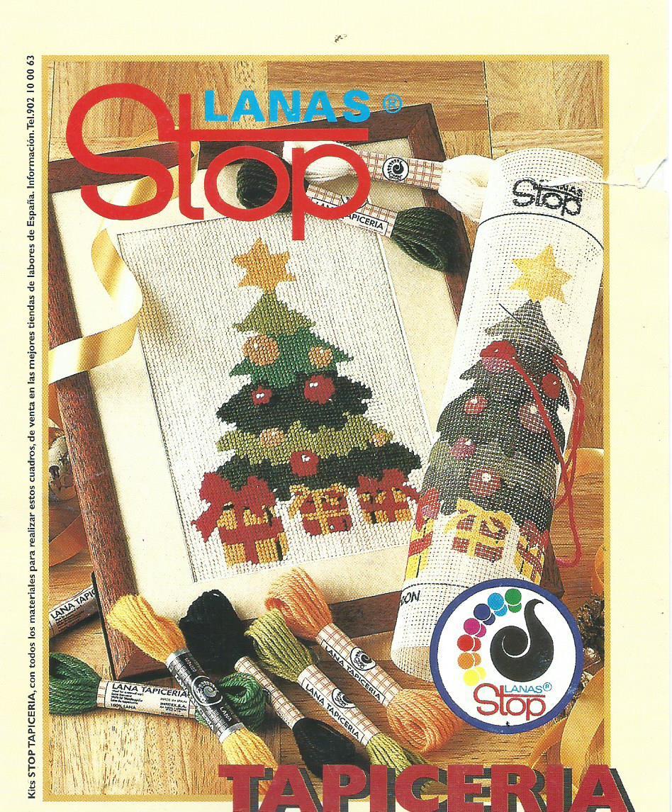 Manualidades Caseras Inma_ bastidores navidad foto del patron del arbol