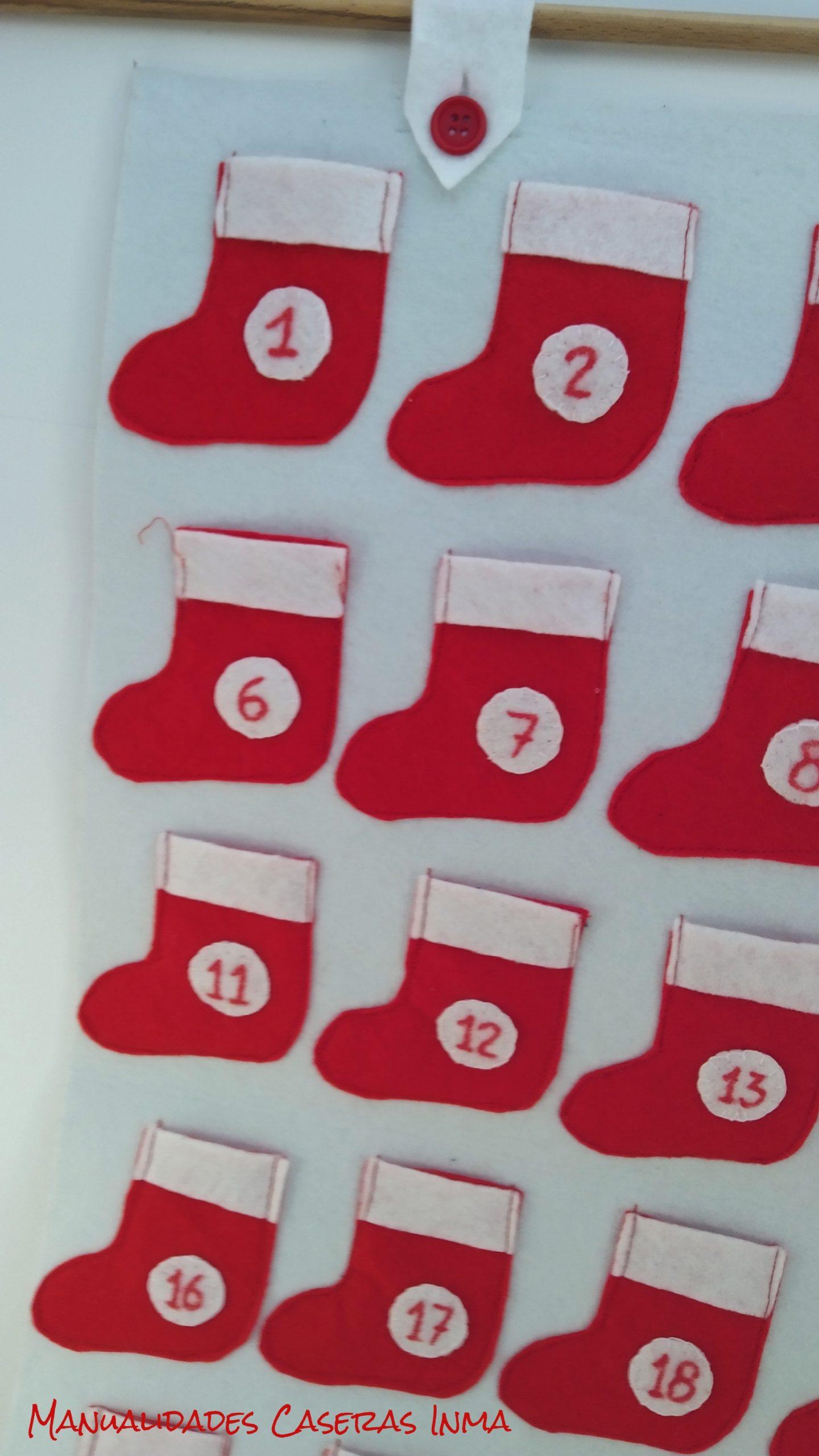 manualidades Caseras Inma_ Calendario de adviento_detalle de la presilla